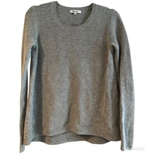 Madewell open sides sweater top